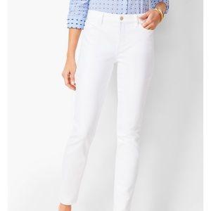 Talbots White Jeans Size 10P